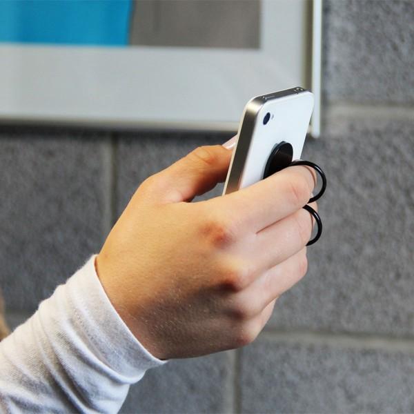 Handy-Handhalter (weiß)