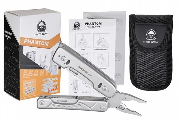 "Roxon Multitool ""Phantom"" mit auswechselbarer Klinge"