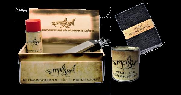 SimplyShark Messerpflege Komplett-Set