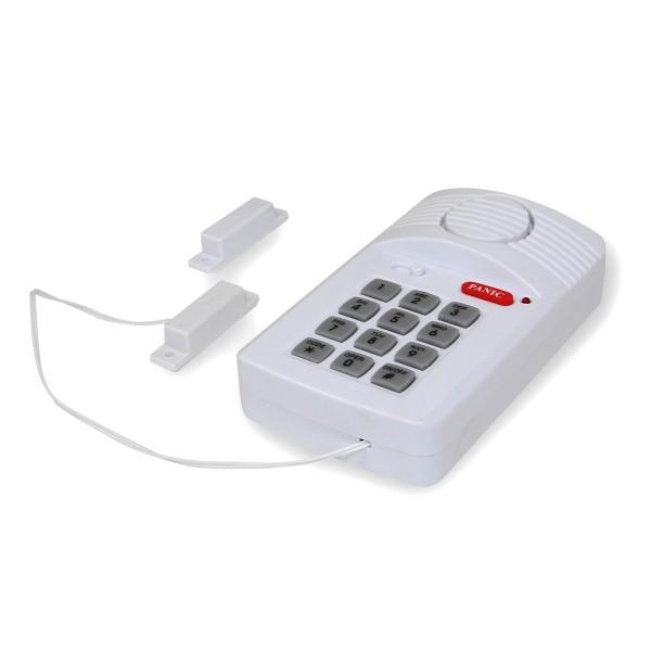 Sicherheits-Alarm-Set inkl. Codeeingabe + Paniktaste (110 dB)