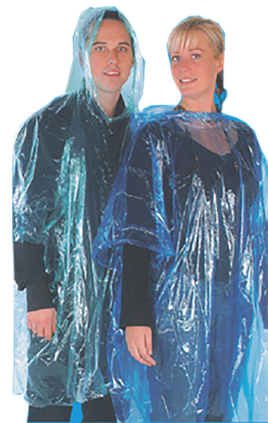 Regenponcho - Mantel - Überhang