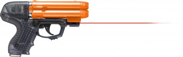 Pfefferspray JPX6 mit 4 Schuss Speedloader inkl. Laser
