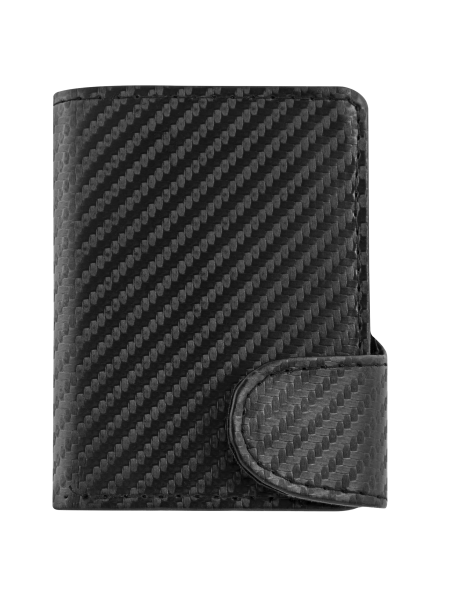 """RFID Purse """"Carbon Wallet Deluxe"""""""