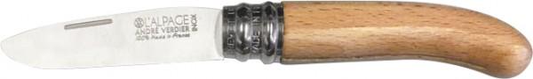 Verdier Schnitzmesser für Kinder mit abgerundeter Spitze Natur