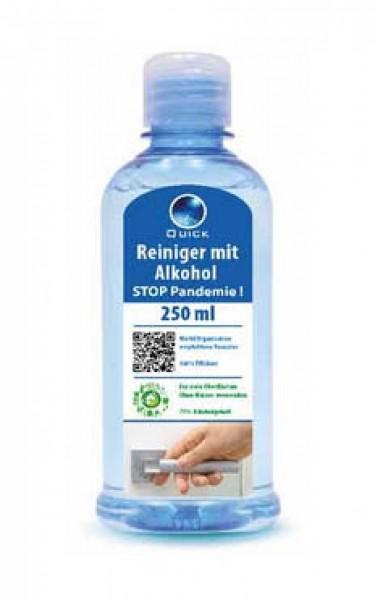 """Hand-&Flächenreiniger 250 ml """"Stop Pandemie"""" Made in Germany"""