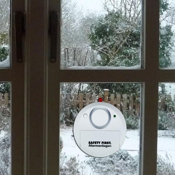 Glasbruchalarm weiß - Safety First