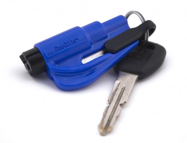 Resqme - Rettungstool mit Schlüsselanhänger Blau