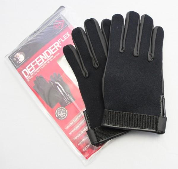 Durchsuchungs Handschuh Defender leichtes Tragegefühl mit schnitthemmender Kevlar- Einlage S