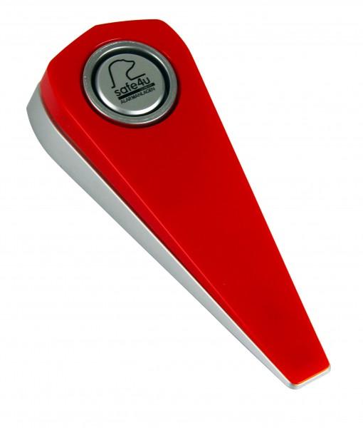 Alarm-Türstopper Travel 100 db Rot