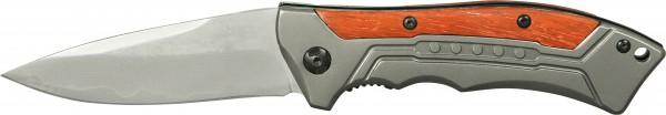 Damast Taschenmesser Holz & Metall