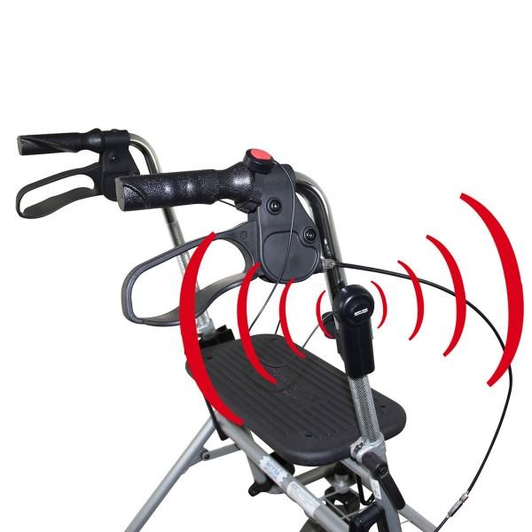 Safety First Schutzalarm für Rollator, Rollstuhl, Gehstock