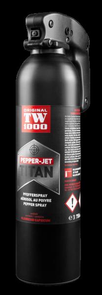 TW 1000 TITAN 750 ml Pfefferspray Sprühstrahl