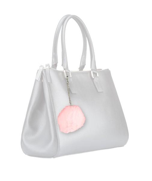 Handtaschen Alarm im trendigen Puschel Design - Zum eleganten Schutz für Unterwegs