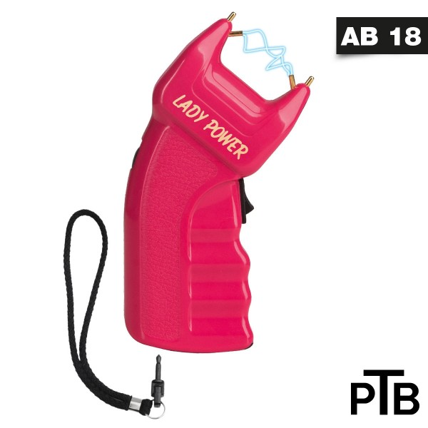Elektroschocker - PTB - Lady Power 200.000 V + Batterie