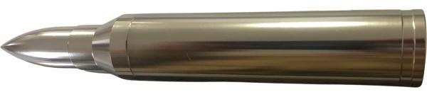 """LED Aluminium Flashlight """"Bullet Light"""" Silber"""
