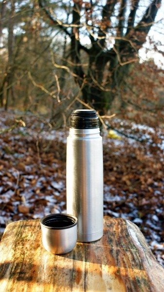 """Edelstahl-Isolierflasche """"On the Go"""""""